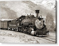 The Durango And Silverton Acrylic Print
