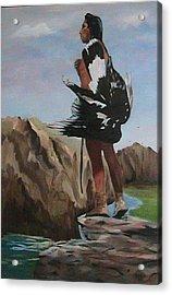 The Eagle Hunter Acrylic Print