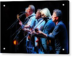 The Eagles Inline Acrylic Print