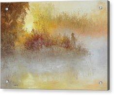 The Early Bird Acrylic Print by Christine Bass