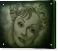 The Early Years Of Lucille Ball Acrylic Print by Shawn Hughes