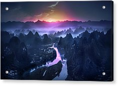 The Earth Awakening Acrylic Print