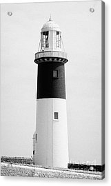 The East Light Lighthouse Altacarry Altacorry Head Rathlin Island Northern Ireland Acrylic Print by Joe Fox