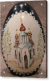 The Eastern Church Acrylic Print by Svetlana  Jenkins