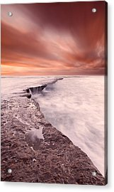 The Edge Of Earth Acrylic Print