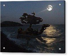 Acrylic Print featuring the photograph The Eftalou Phantom by Eric Kempson