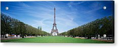 The Eiffel Tower Paris France Acrylic Print by Panoramic Images