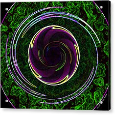 The Electric Doughnut Acrylic Print by Clif Jackson