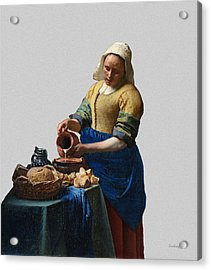 The Elegance Of The Kitchen Maid Acrylic Print