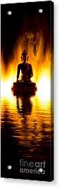 The Elemental Buddha Acrylic Print