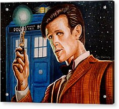 The Eleventh Doctor Acrylic Print