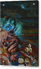 Acrylic Print featuring the mixed media The Eleventh Hour by Douglas Fromm