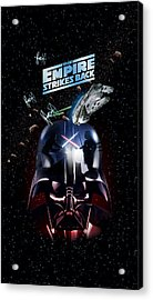 The Empire Strikes Back Phone Case Acrylic Print by Edward Draganski