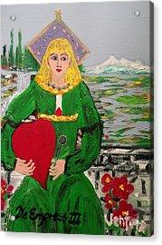 The Empress Tarot Card Acrylic Print
