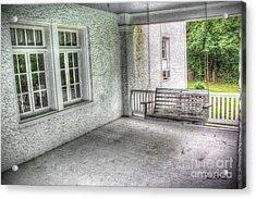The Empty Porch Swing Acrylic Print