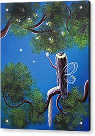 The Enchanted By Shawna Erback Acrylic Print by Shawna Erback