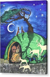 The Enchantment Acrylic Print by Cat Athena Louise