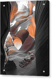 The Enchantment Of A Slot Canyon Acrylic Print by Clay and Gill Ross