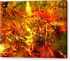 The End - 12/21/2012 - Horrific Hallucination Acrylic Print by J Larry Walker