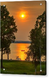 The End Of A Perfect Day Acrylic Print