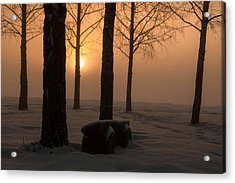 The End Of Day 2 Acrylic Print