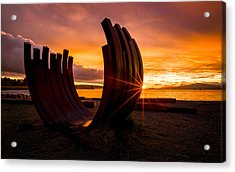 The End Of Summer Acrylic Print by Alexis Birkill