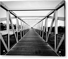 The End Of The Bridge Acrylic Print