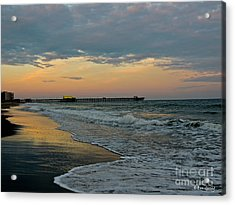 The End Of The Day Acrylic Print by Eve Spring