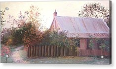 The End Of The Day Acrylic Print by Jan Matson