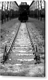 The End Of The Line Acrylic Print by Olivier Le Queinec