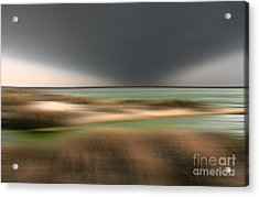 The End Of Time - A Tranquil Moments Landscape Acrylic Print by Dan Carmichael