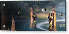The Endless River Acrylic Print by Phil Sadler