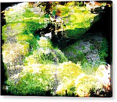 Acrylic Print featuring the photograph The Entanglement 5 by The Art of Marsha Charlebois