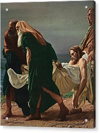 The Entombment Acrylic Print