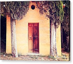 The Entrance Acrylic Print by Matteo Colombo