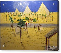 The Escape To Egypt Acrylic Print