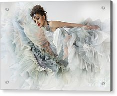 Acrylic Print featuring the photograph The Ese Of by Evgeniy Lankin