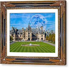 The Evening Begins At Biltmore Acrylic Print by Betsy Knapp