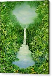 The Everlasting Rain Forest Acrylic Print by Hannibal Mane