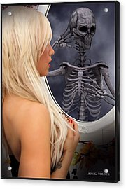 The Evil Mirror Acrylic Print