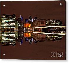 The Exotic Skyline Acrylic Print