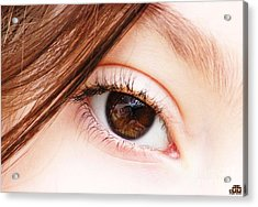 The Eye Acrylic Print by Dheeraj B