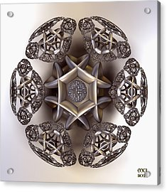 The Eye Of Harmony Acrylic Print by Manny Lorenzo