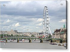 Acrylic Print featuring the photograph The Eye Of London by Keith Armstrong