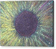 The Eye Of The One Detail Acrylic Print