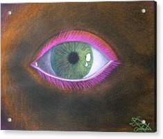 The Eye Of The One Acrylic Print