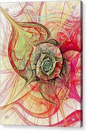 The Eye Within Acrylic Print by Anastasiya Malakhova