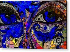 The Eyes Have It. 1 Mosaic Acrylic Print