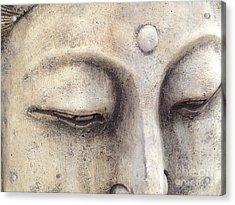 The Eyes Of Buddah Acrylic Print