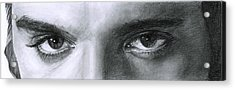 The Eyes Of The King Acrylic Print